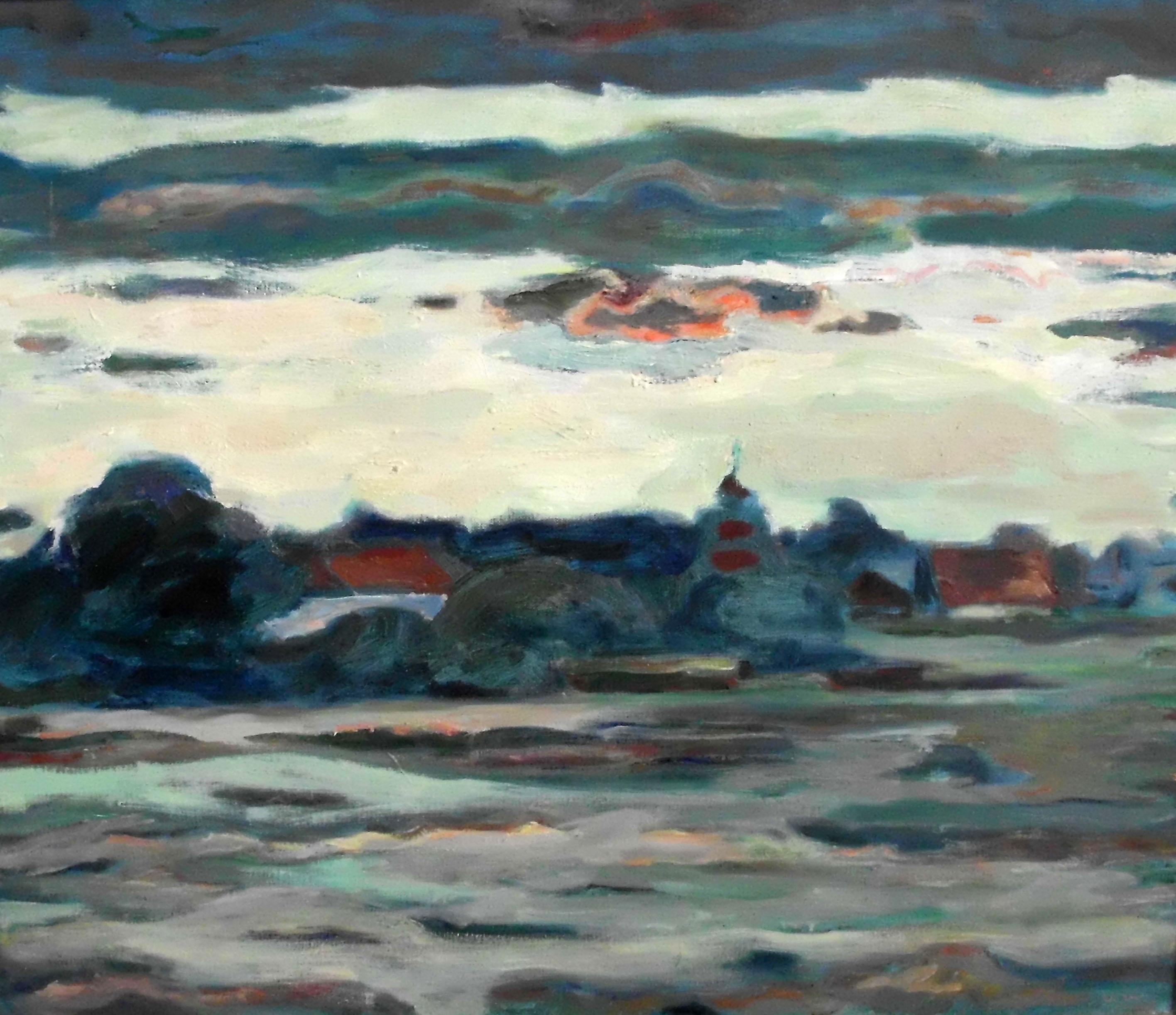 Ute Wittig - Moritzburg am Abend