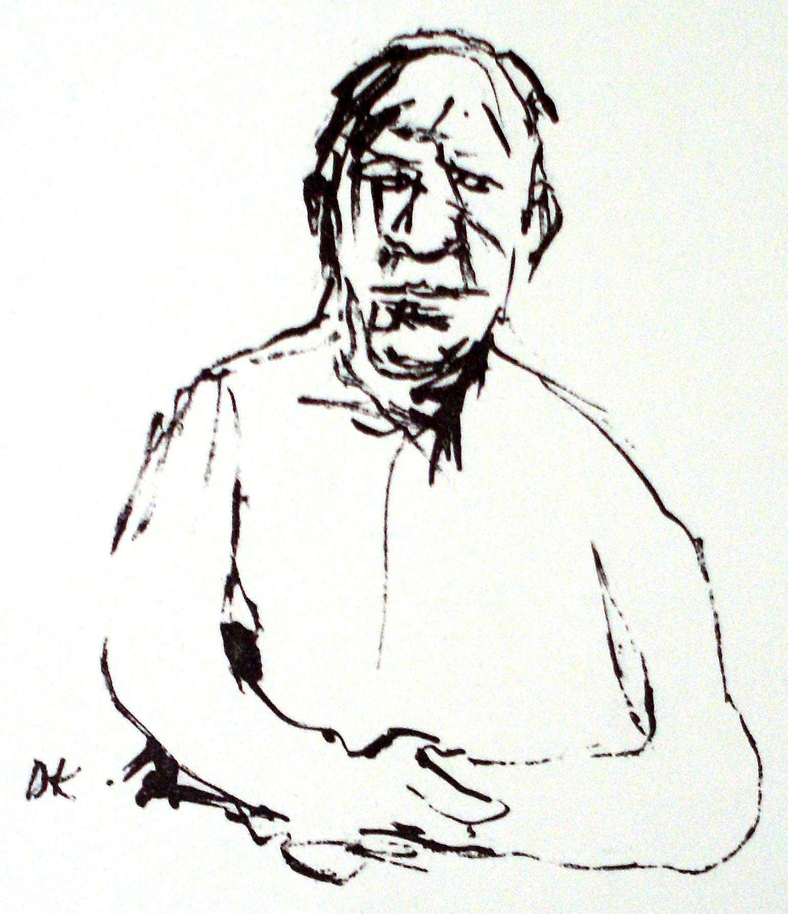Oskar Kokoschka - Selbstbildnis
