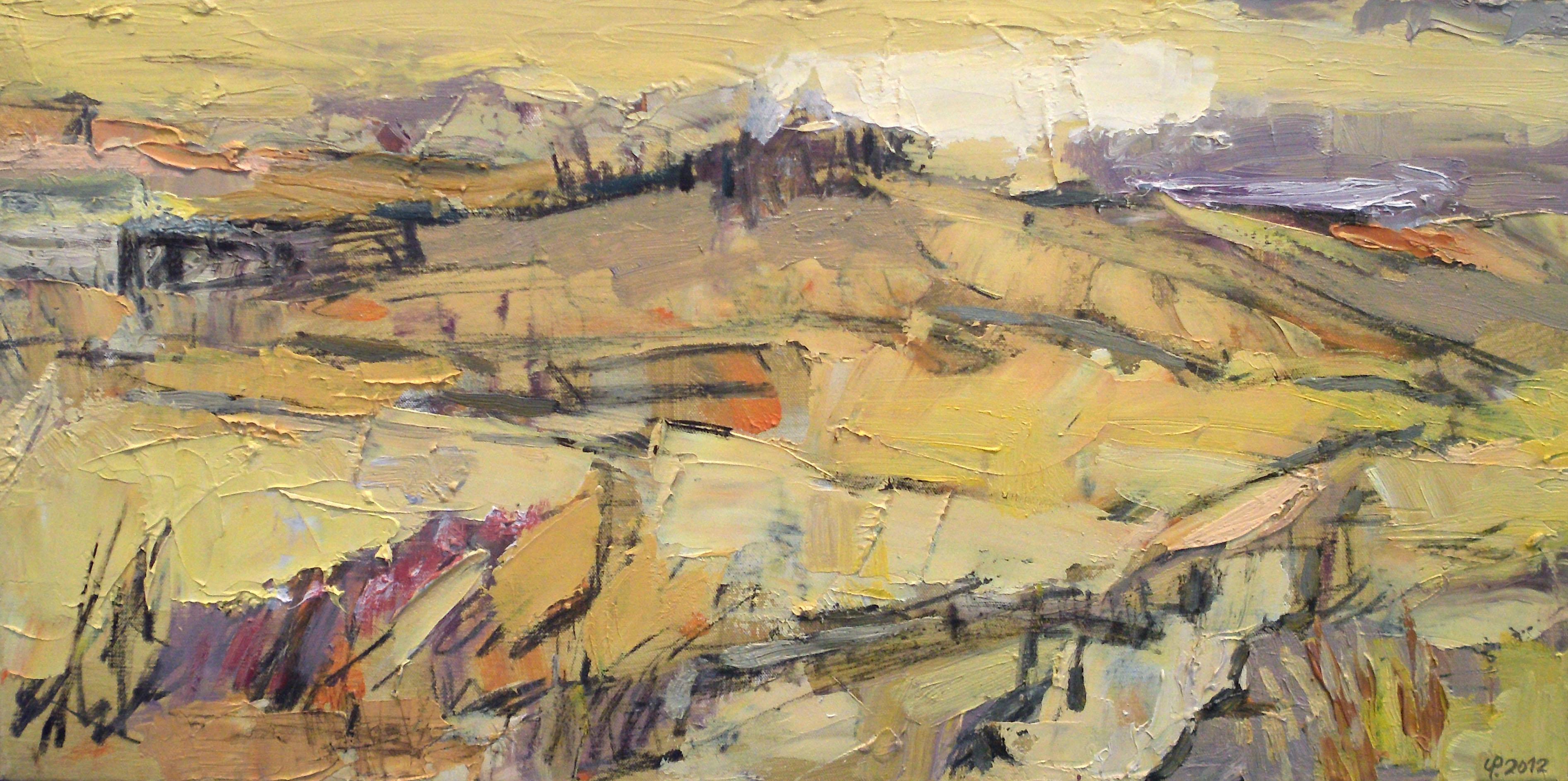 Uwe Peschel - Gelbe Landschaft