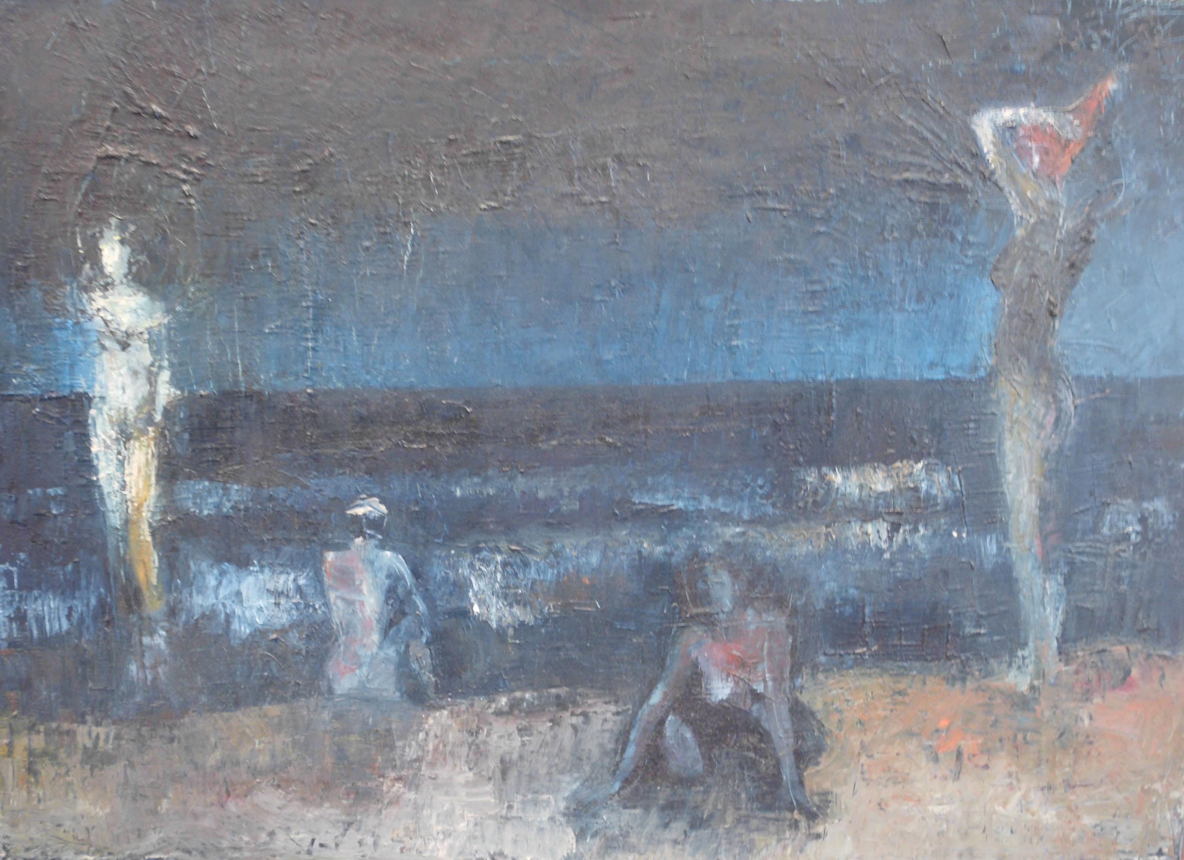 Gerd Buschendorf - Nachts am Meer