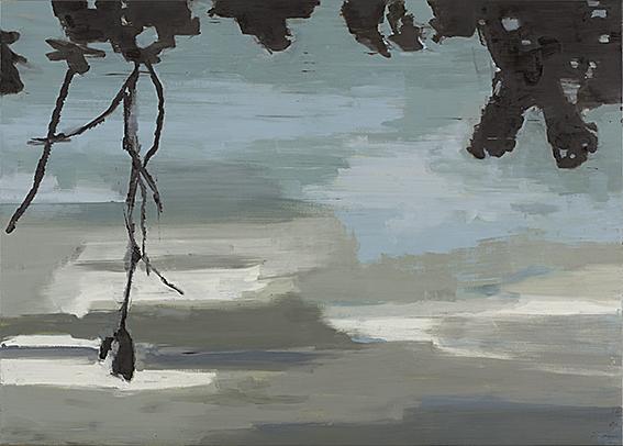 Iris Brankatschk - Maiberg | Öl auf Leinwand | 2007
