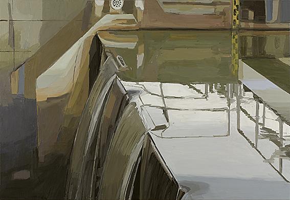 Iris Brankatschk - Wehr | Öl auf Leinwand | 2008