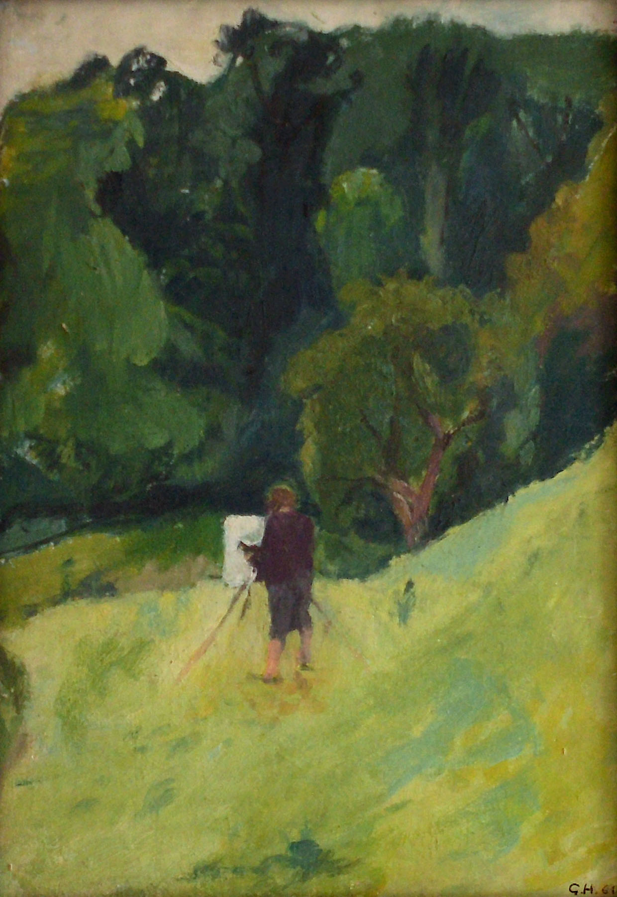 Gunter Herrmann - Maler P.K. im Rehbockgrund