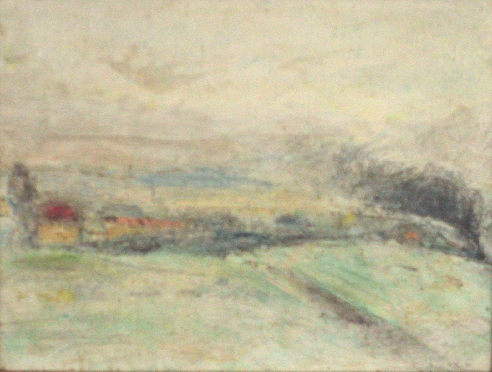 Gunter Herrmann - Landschaft mit Kleinbahn