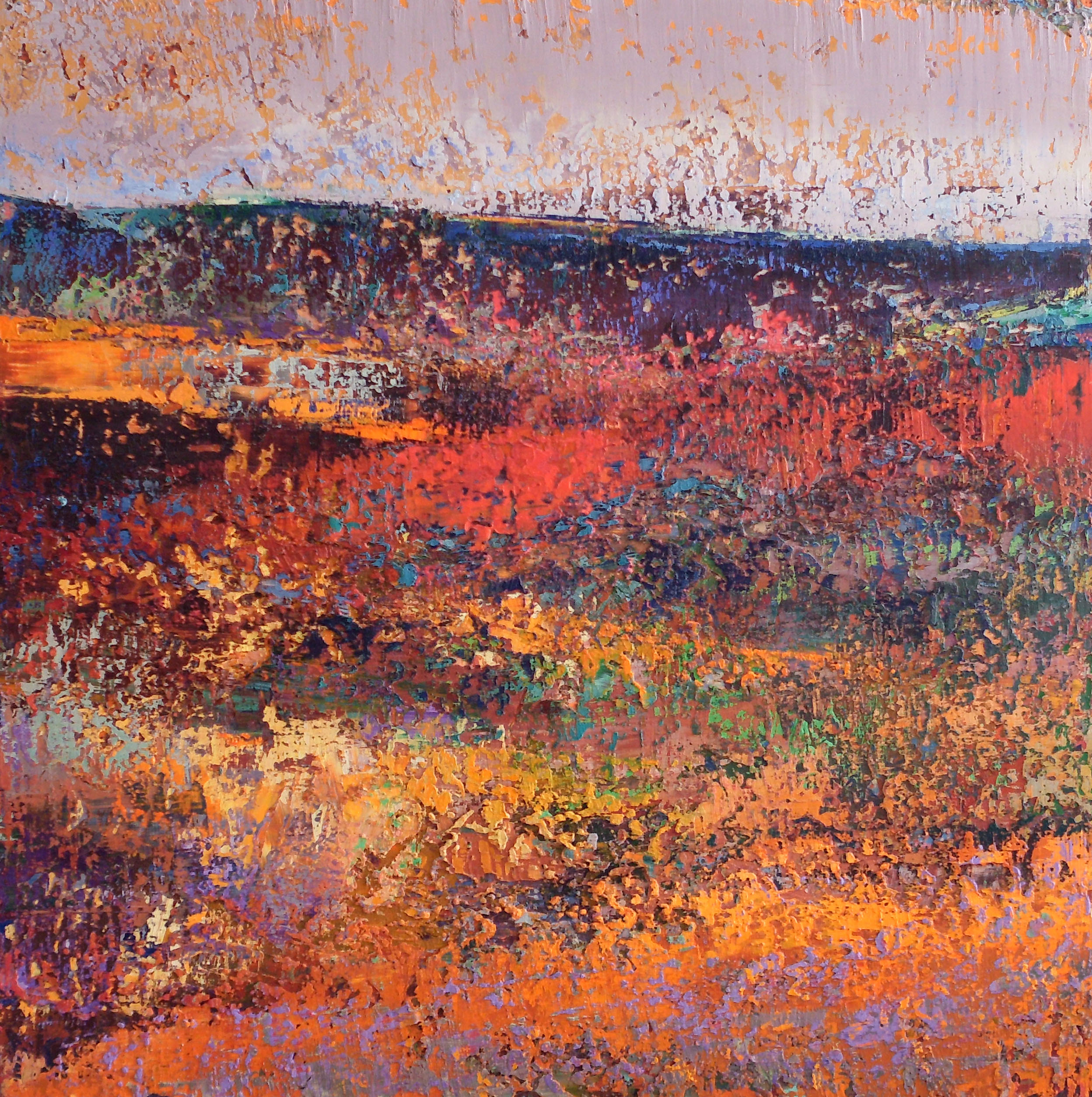 05-michael_freudenberg-abstrakte_landschaft_mit_dunklem_horizont-2005_2008-oel_auf_holz-110x110