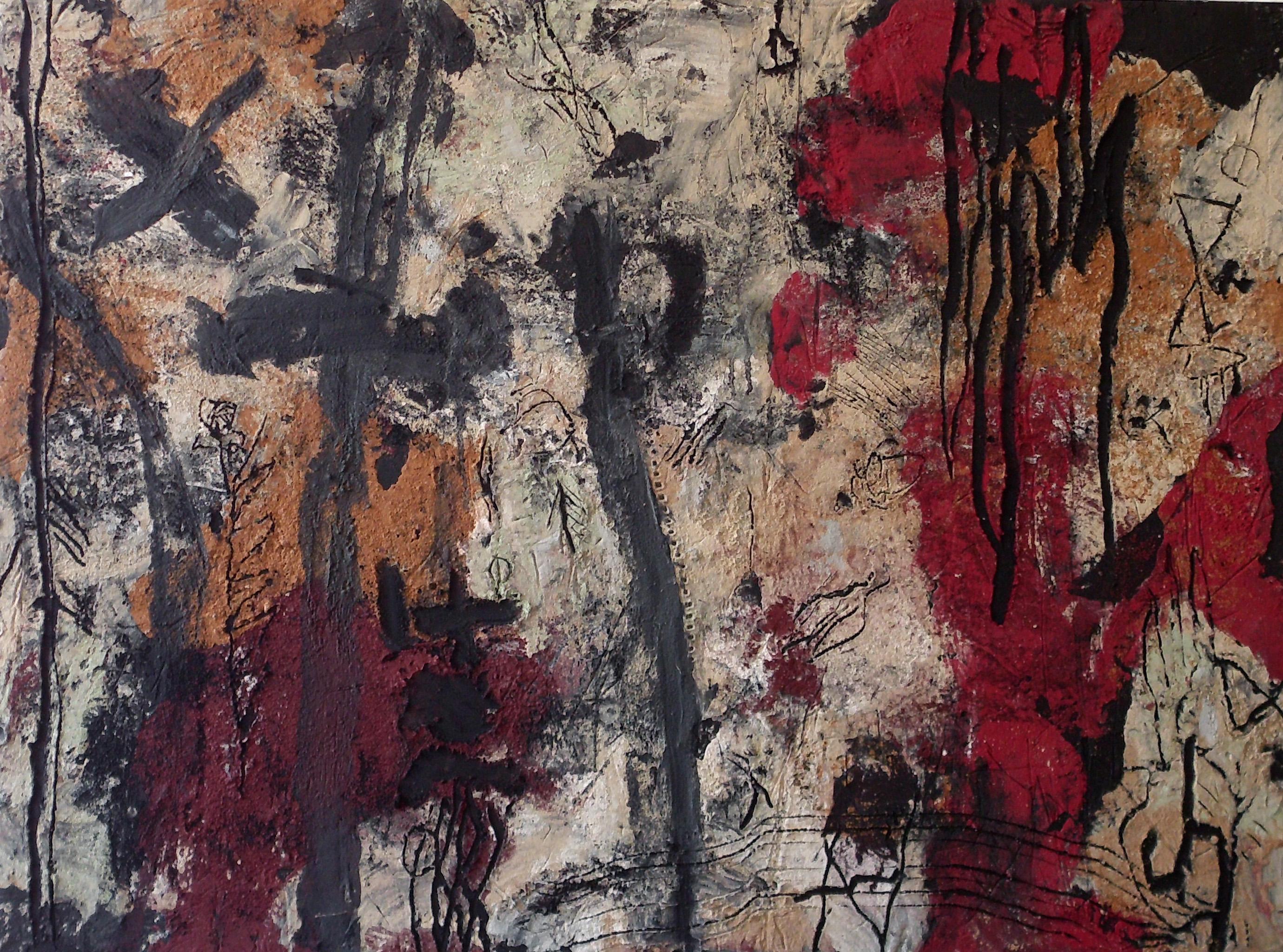 20-christian_hasse-komposition_mit_kreuz-2012-acryl_auf_hartfaser-91x122