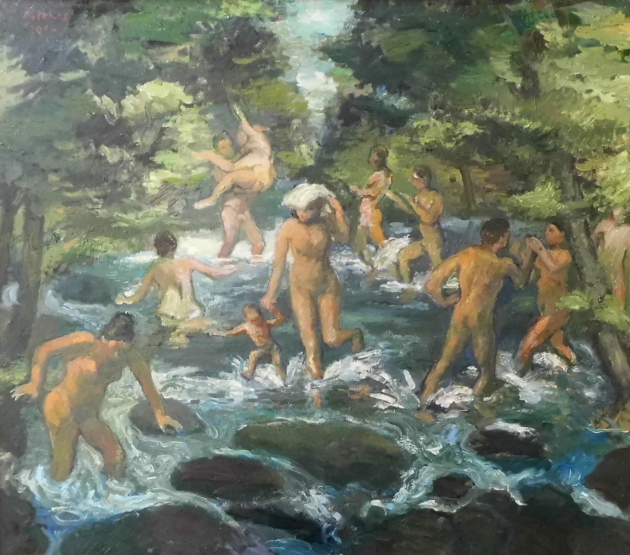 14-harald_metzkes-baden_im_steinigen_bach-2012-oel_auf_leinwand-70x80