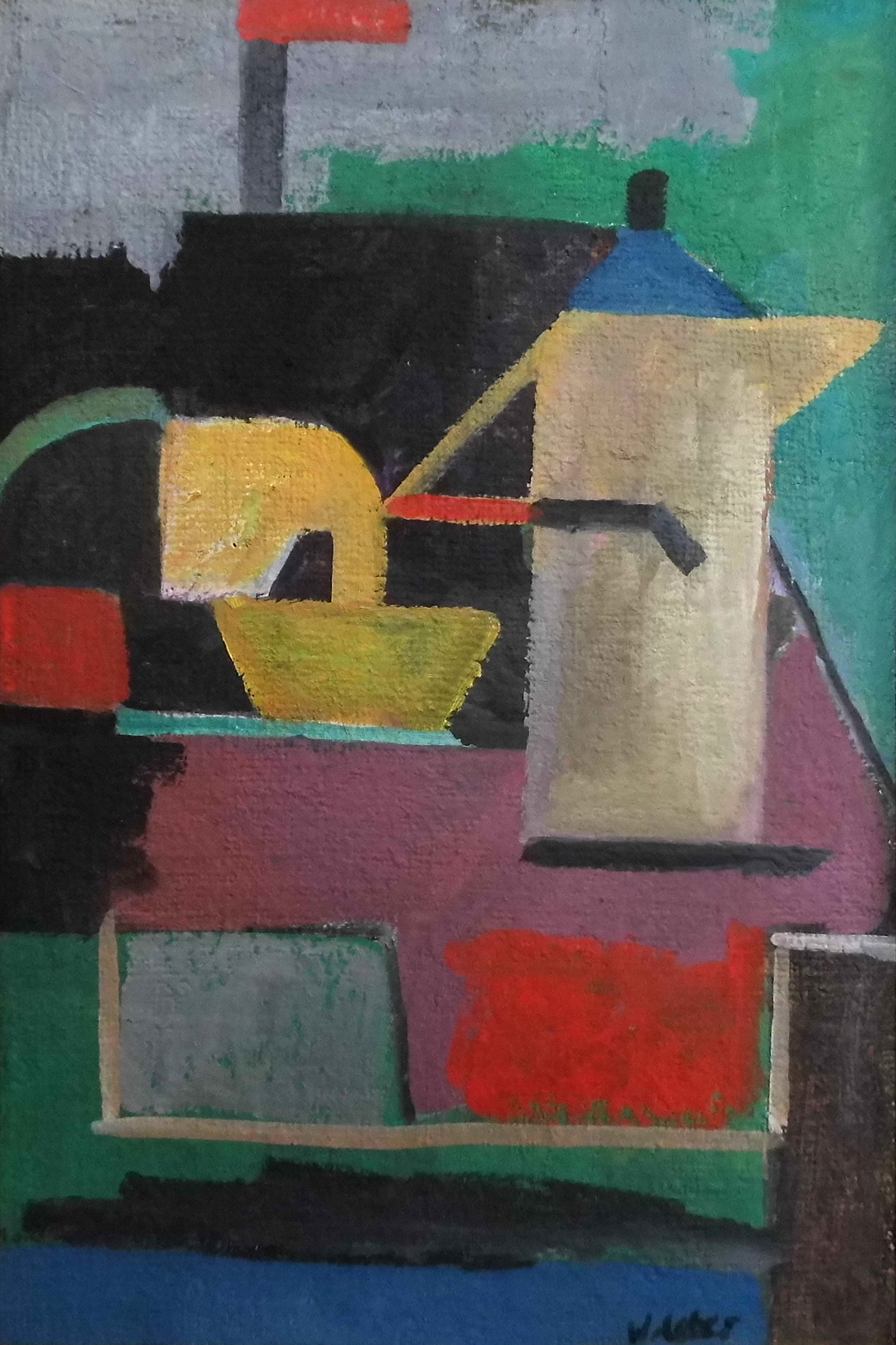 15-wolfgang_leber-kubistisches_fruehstueck-1994-oel_auf_leinwand-45x30
