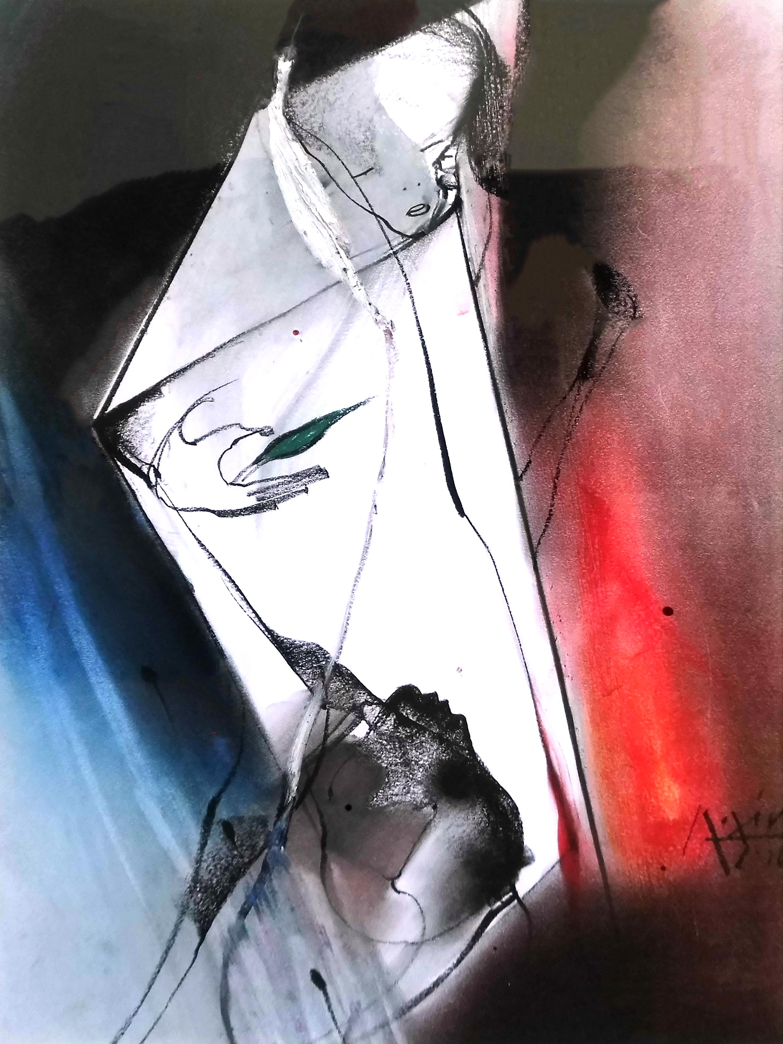 17-gregor_torsten_kozik-spiegelraum-2016-kohle_kreide_oelstick-40x30