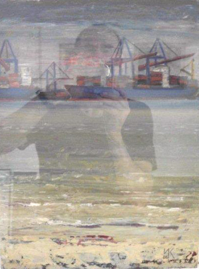 Wolfgang Kühne - Hafen in Harnburg