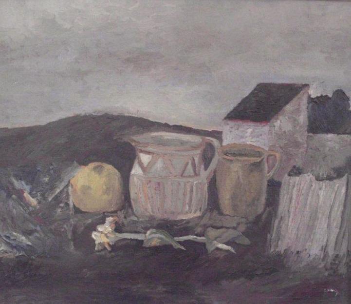 Werner Wittig - Stilleben am Acker
