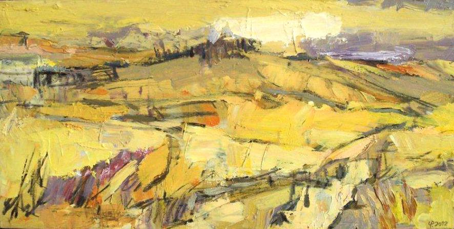 Uwe Pesehel - gelbe Landschaft