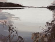Iris Brankatschk - o. T. (Landschaft, Teich)