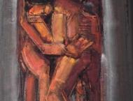 guenter_hein-troestendes_paar-2002-gouache_auf_papier-68x47