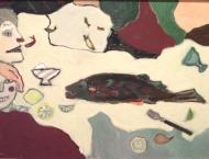 Ute Wittig - Fisch essen