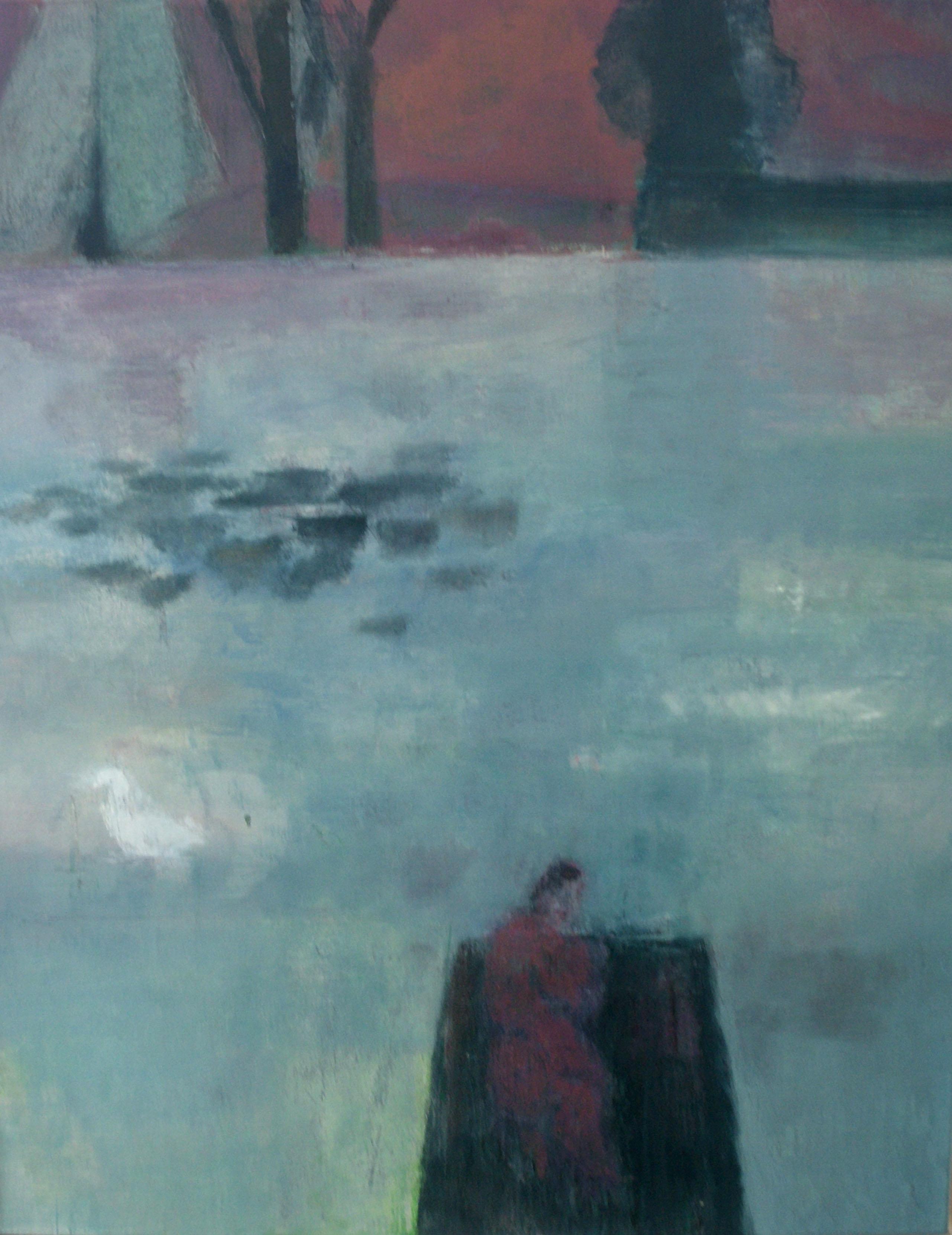 Carsten Gille - Frau in einem Boot