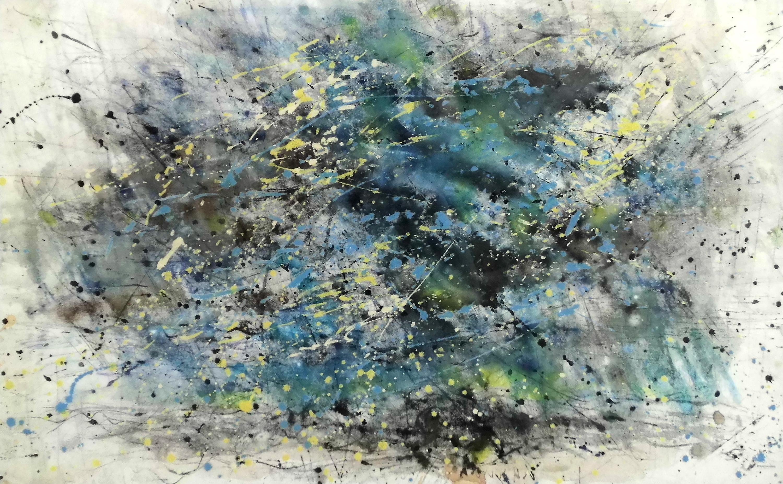 24-gerda_lepke-wolkenformation-2017-aquarell_tusche_vliseline-56-5x91-5