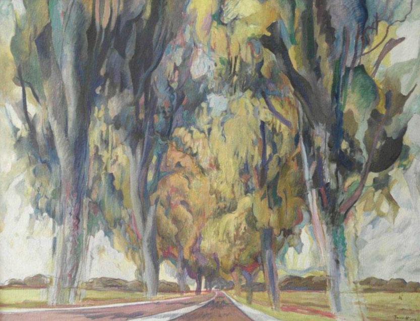 Peter Berndt - Herbstfarben Landschaft