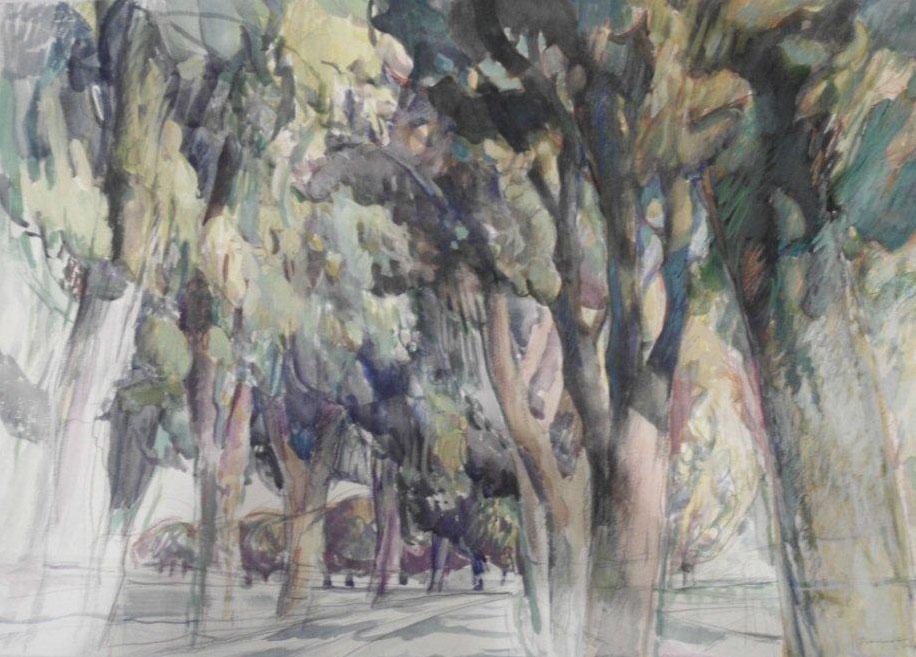 Peter Berndt - Märkisches Landschaftsbild