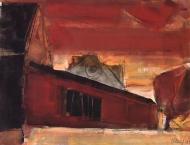 guenter_hein-landschaft-nentmannsdorf-1991-gouache_auf_papier-34x44
