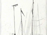 ursula_strozynski-regatta_xx-2015-kaltnadelradierung-49x34